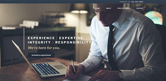 Law Site Express Template